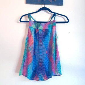 Anthropologie Conditions Apply Prismatic Top